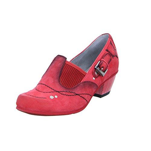 Maciejka 03366 Damen Pumps Leder Rot (Red), Größe 39