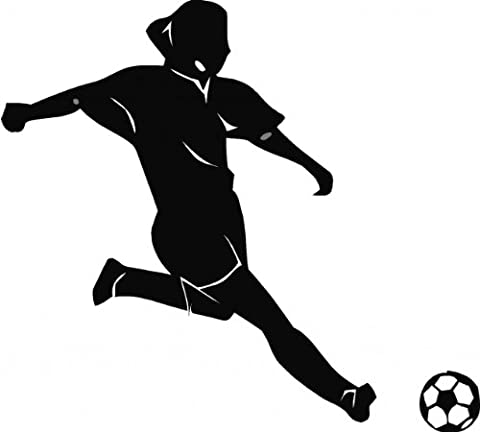 Soccer Woman Picture Art - Living Room - Home Decor