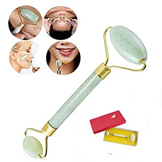 Finlon Royal Jade Roller Massager Facial Body Eye Head Neck Slimming Massager Face Slimmer Beauty Tool Therapy Roller Massager