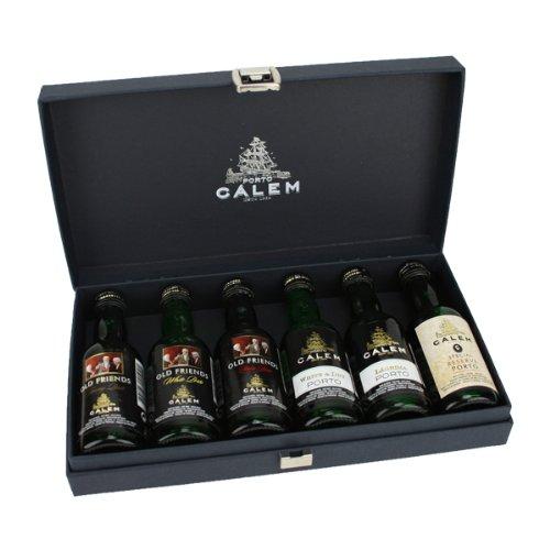 Porto Cálem mit 6 Portwein-Miniaturen á 50 ml im Geschenkkarton - 0.30 l -