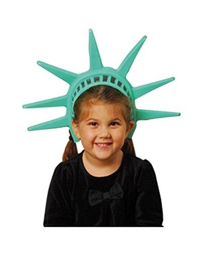 Krone der Freiheitsstatue (Statue Of Liberty Halloween Kostüme)