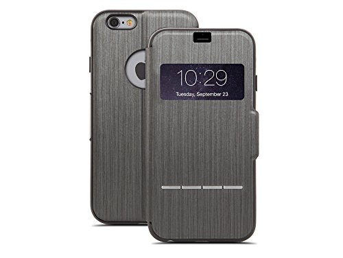 Moshi 99MO072304 SenseCover Stahl in schwarz für Apple iPhone 6 Plus - Phone I Moshi 5