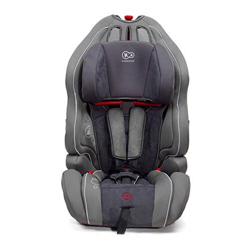 Kinderkraft Smart Up Kinderautositz Autokindersitz Kindersitz 9 bis 36 kg Gruppe 1 2 3 Grau
