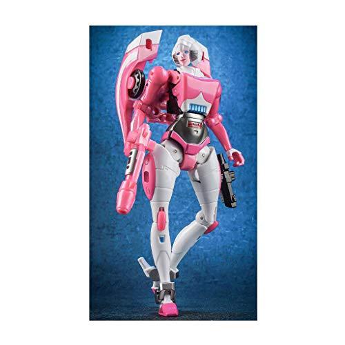 Weiblicher Held-Rettungsroboter, Kampfroboter-Modell, verformtes Roboter-Spielzeug für Jungen und Mädchen