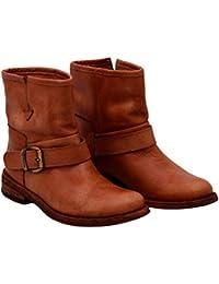 684606f62ff Felmini - Chaussures Femme - Tomber en Amour avec GREDO 9645 - Bottines  Cowboy   Biker
