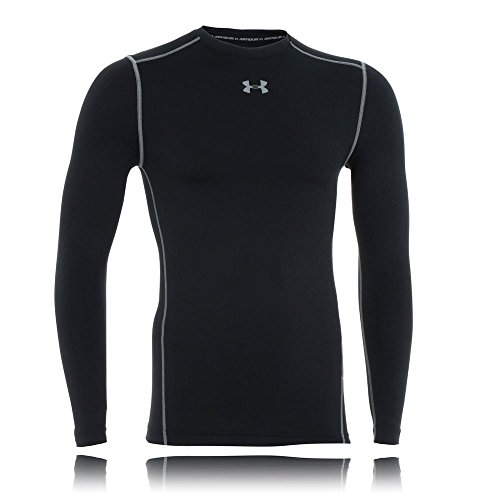 Under Armour Herren UA CG Armour Crew Fitness-Sweatshirts, Black, S -