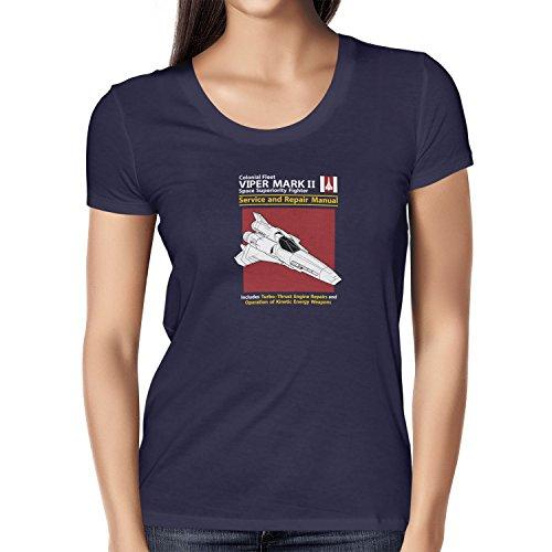 TEXLAB - Viper Repair Manual - Damen T-Shirt Navy