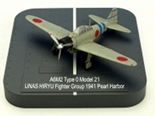 X PLUS A6M2 Zero Model 21 IJNAS HIRYU Fighter Group BII-101 1941 Pearl Harbor (japan import)