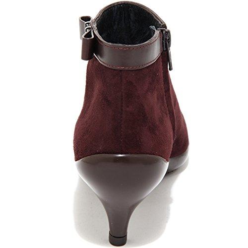 61759 HOGAN H 195 POLACCO FIOCCO VINTAGE scarpa stivale donna boots s Bordeaux