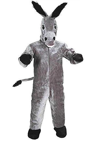 ESEL GR. M-L-(XL) KOSTÜM FASCHING KARNEVAL FASTNACHT NEU (Esel-kostüm Für Erwachsene)