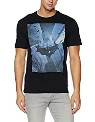 United Colors of Benetton Mens T-Shirt (8903975487055_17A3096J1F61I901S_Black)