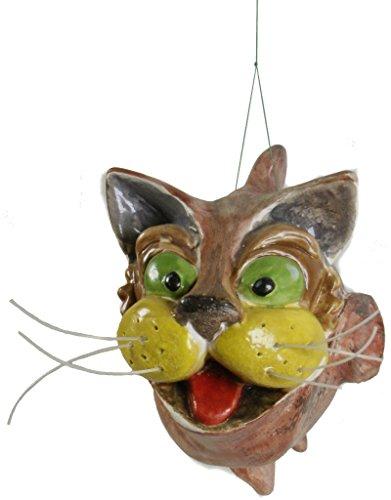 Frisches Dekor (LEONARDO, Keramik-Skulptur d 'CONTEMPORARY ART. WELS aus der Sammlung UNTERZEICHNET ITALDESIGNFOGLIARO. Katze - Wels)