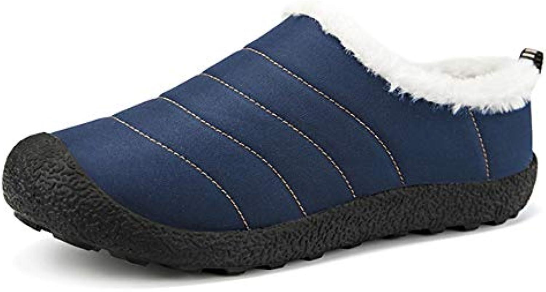 XiaoSuzan Inverno Pantofole Pantofole Antiscivolo su comode Pantofole in Cotone per la casa Scarpe di Cotone (... | Primi Clienti  | Scolaro/Ragazze Scarpa