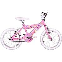 """Sunbeam Heartz Girls' Kids Bike Pink, 10"""" inch steel frame, 1 speed aluminium v-brakes aluminium/resin brake levers"""