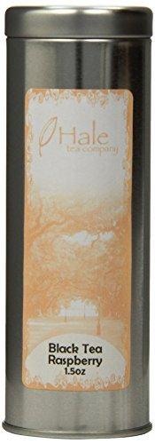 Hale Tea Black Tea, Raspberry, 1.5-Ounce