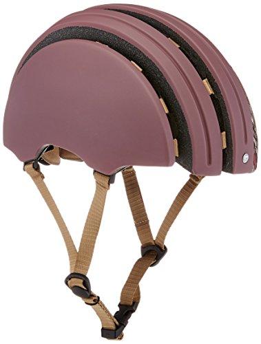 Brooks Erwachsene Fahrradhelm J. B. Classic Helmet, red must/Grey tartan, L