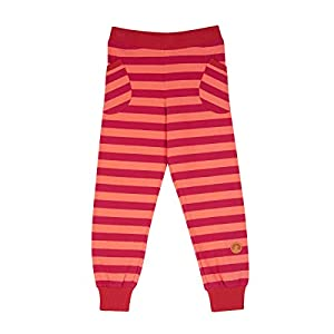 FINKID Streifen Leggings TIIKERI Raspberry Georgia Peach Gr. 120 130