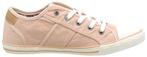 Mustang 1099-302-630, Baskets Basses femme Orange (630 Pfirsich)
