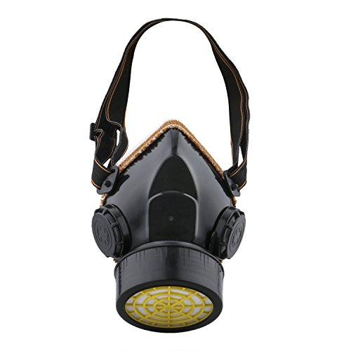 Ewolee Máscara de Gas, Mascarillas y respiradores Para Filtrar Polvos