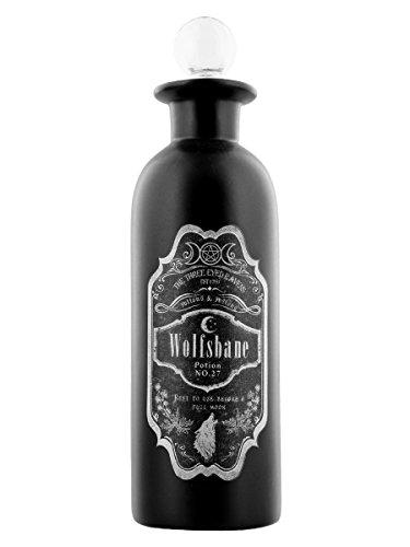 Flasche Zaubertrank Wolfs-Eisenhut schwarz 19cm