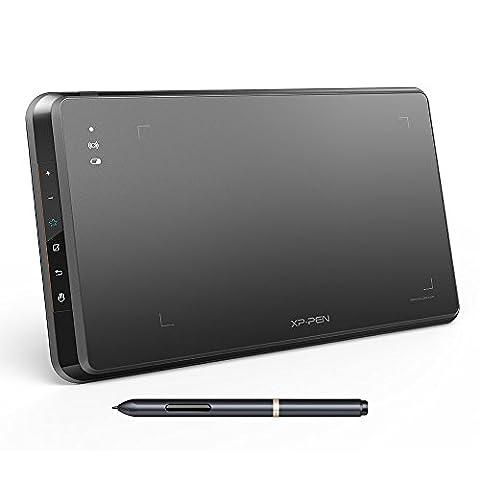 XP-Pen Star 05 kabellos 2.4G Zeichnung Tablett Grafiktablett mit Touch Schnellzugriffstasten passiver Stylus