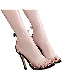 19176c22ed901a Suchergebnis auf Amazon.de für  Stiletto - Sandalen   Damen  Schuhe ...