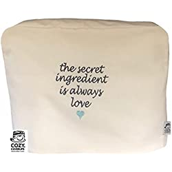 Cozycoverup Housse de protection pour robot menager kenwood in Secret Love (Prospero 900w KM240 KM241 KM243 KM244 KM283 KM288 Crème