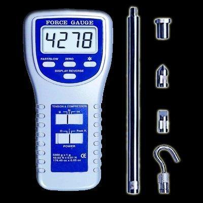 Kraftmesser Kraftmessgerät Druck Kompression Newton Kraft DW2