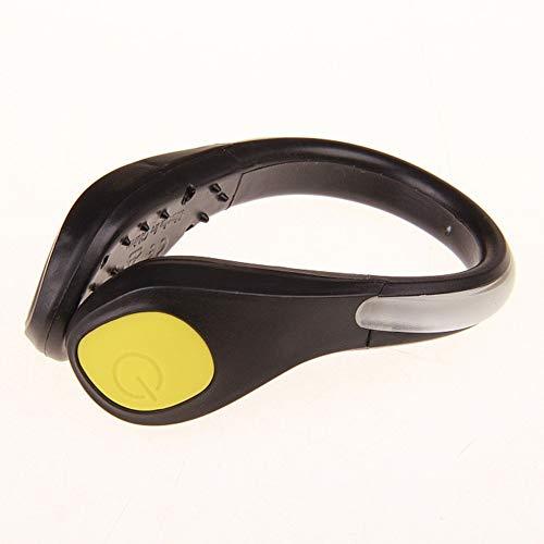 Neborn LED Leucht Schuh Clip, Outdoor Fahrrad LED Leucht Nacht Laufen Schuh Sicherheit Clips Radfahren Sport Warnung Licht Sicherheit - Fahrrad-licht Led 9