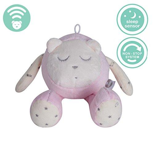 Myhummy (Szumisie) Snoozy bruit Blanc jouet avec détecteur de Cry et non Stop System (Rose) (Sleep Aid Maschine)