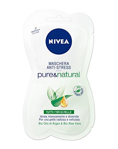 Nivea Visage Caring Maschera Pure&Natural 15Ml