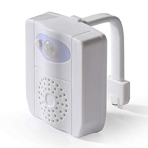 Nacht Lichter 16 R Farben Toilette Lampe Bequem LED Heim UV Desinfektion Dekorationen Badezimmer Tragbar Aktiviert Sitz Automatischer Sensor Motion - Desinfektion Licht