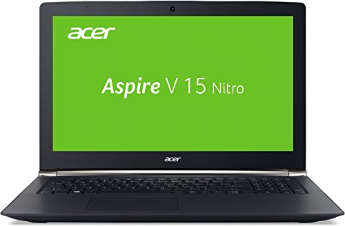 Acer Aspire V 15 Nitro (VN7-572G-54YG) 39,6 cm (15,6 Zoll Full HD IPS) Laptop (Intel Core i5-6200U, 2,8GHz, 8GB DDR4-DDR4-RAM, 1TB HDD, NVIDIA GeForce 945M, DVD, Win 10 Home) schwarz 2.8 Ghz Notebook
