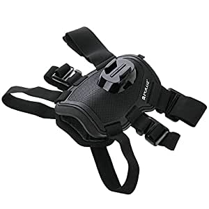 PULUZ Gopro Fetch Dog Harness Adjustable Chest Strap Mount for GoPro HERO4 Session /4 /3+ /3 /2 /1