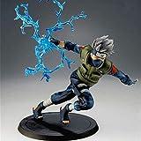 ALTcompluser Figurine de collection Naruto, cadeau pour fans d'animés Hatake Kakashi - 16 Cm