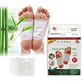 Aryshaa Cleansing Toxins Remover Detox Foot Patches 10 Adhesive Pads Kit