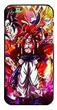 Art-design Coque iPhone 7 et iPhone 8 Supreme DBZ Dragon Ball Z Super GT Vegeta Son Gohan Son Goku Silicone Souple