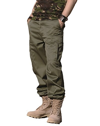 Mil-Tec US Ranger Hose Typ BDU Oliv Gr.L