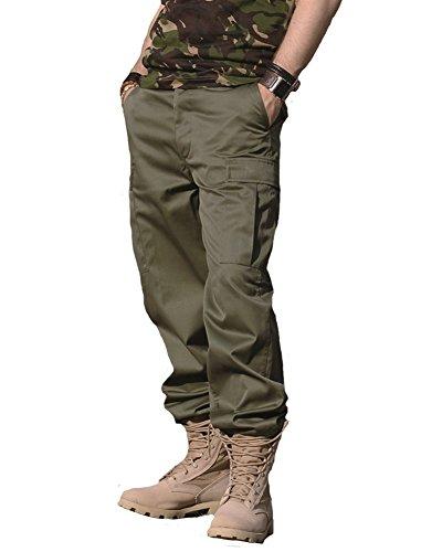 Mil-Tec US Ranger Hose Typ BDU Oliv Gr.L - Armee Militär T-shirt