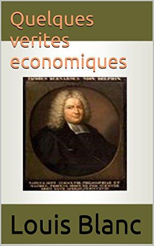 Quelques verites economiques