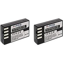 2x Batteria D-LI109 per Pentax K-r, Kr, K-S1, K-S2, K30, K-30, K-50, K50, K-70, K70, K-500, K500