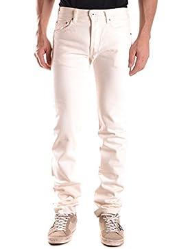 Evisu Hombre MCBI338010O Blanco Algodon Jeans
