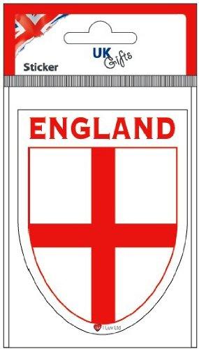 I Luv LTD England George Cross Shield Sticker
