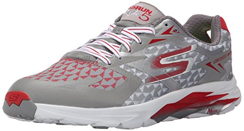 SkechersGo Run Ride 5 - Zapatillas de running hombre, color gris (gyrd