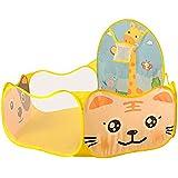 Lalawow Piscine à balles pour bébé enfant (Faon jaune )