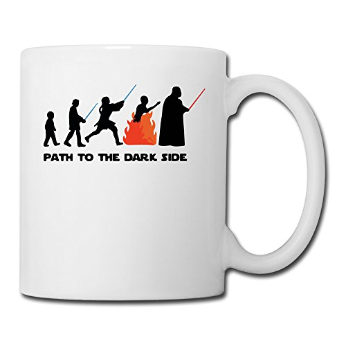 long5zg Path To The Dark Side Mug en céramique tasse à café Taille unique