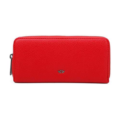 Fritzi aus Preussen Damen Nicole Geldbörse, Rot (Red), 2.5x19.5x9.5 cm