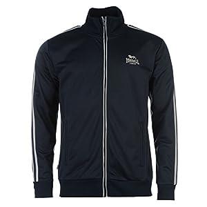 Lonsdale Herren Trainingsjacke Jacke Sportjacke Sport Freizeit  Reissverschluss Navy Grey Large 408142637e