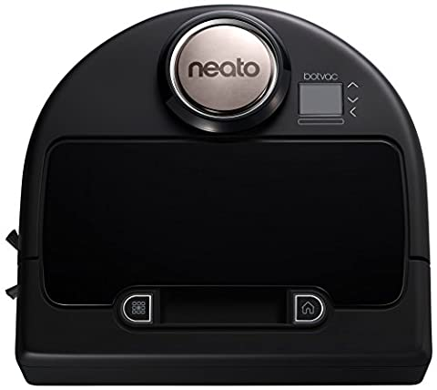 Neato 945-0181 Botvac-Connected Staubsaugerroboter (Appsteuerung) Schwarz/Grau