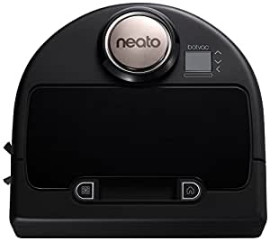 Neato Robotics Botvac Wi-Fi Enabled Robot Vacuum Cleaner, 0.7 L, 43 W - Black/Silver
